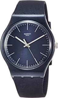 Swatch Naitbayang SUON136 Blue Silicone Quartz Fashion Watch