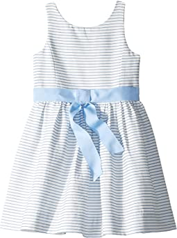 Striped Fit and Flare Dress (Little Kids)