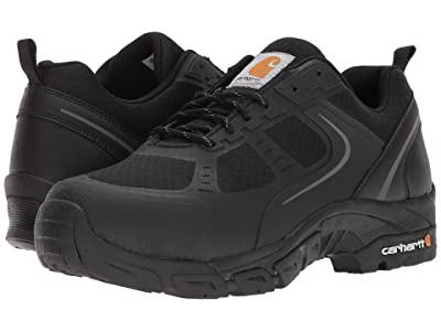 Carhartt Lightweight Low Work Hiker Boot Steel Toe (Black Nylon Mesh) Men