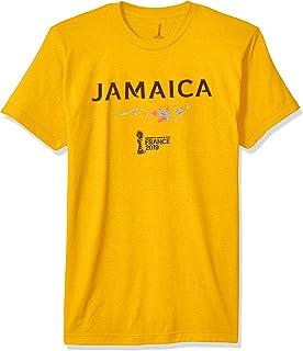 FIFA Officially Licensed Jamaica Men's Tee, Gold, Medium