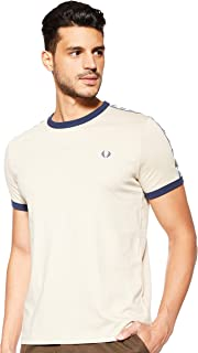 Fred Perry Mens Taped Ringer T-Shirts