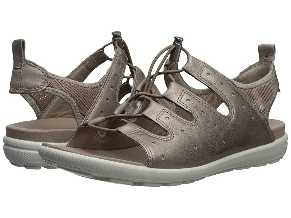 ECCO Jab Toggle Sandal (Moon Rock) Women