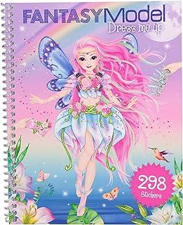TOP MODEL 0010955 Cuaderno Dress Me Up de pegatinas Mermaid FANTASY
