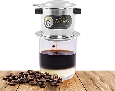 Amazon.com: 10 taza vidrio café émbolo: Kitchen & Dining