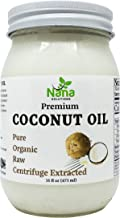 Centrifuge Extracted Premium 100% Organic Raw | Extra Virgin Coconut Oil | For Cooking, Skin Care, Hair Care, & Oral Hygiene | 16 oz