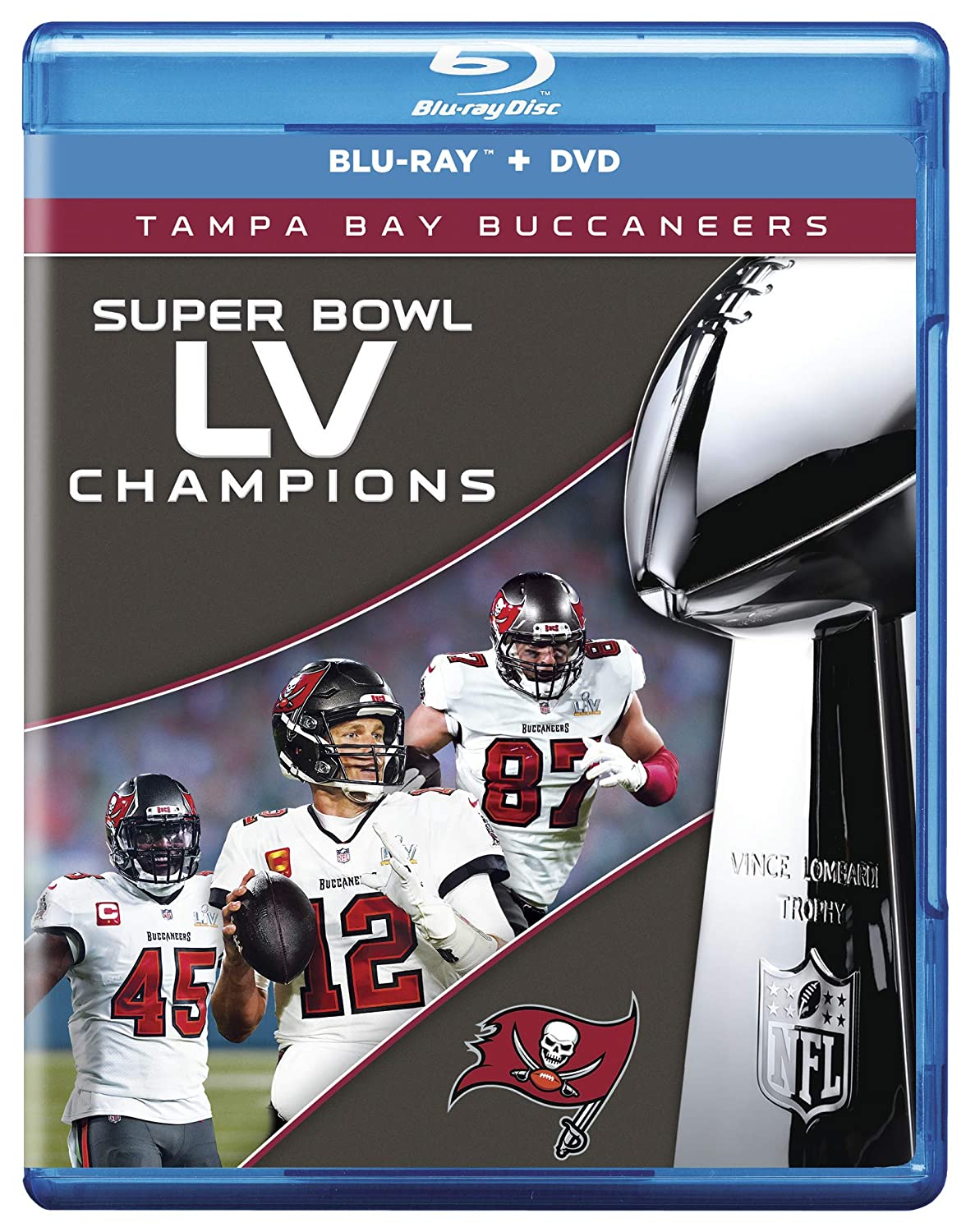 Bombing new work NFL Super Bowl Credence LV Champions: Bay Buccaneers Tampa Combo