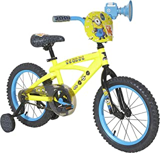 Minions Boys Dynacraft Bike, Yellow/Blue/Black, 16
