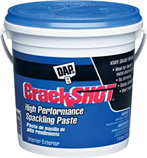 Dap 7079812380 Crackshot Ga Raw Building Material, Gallon, White