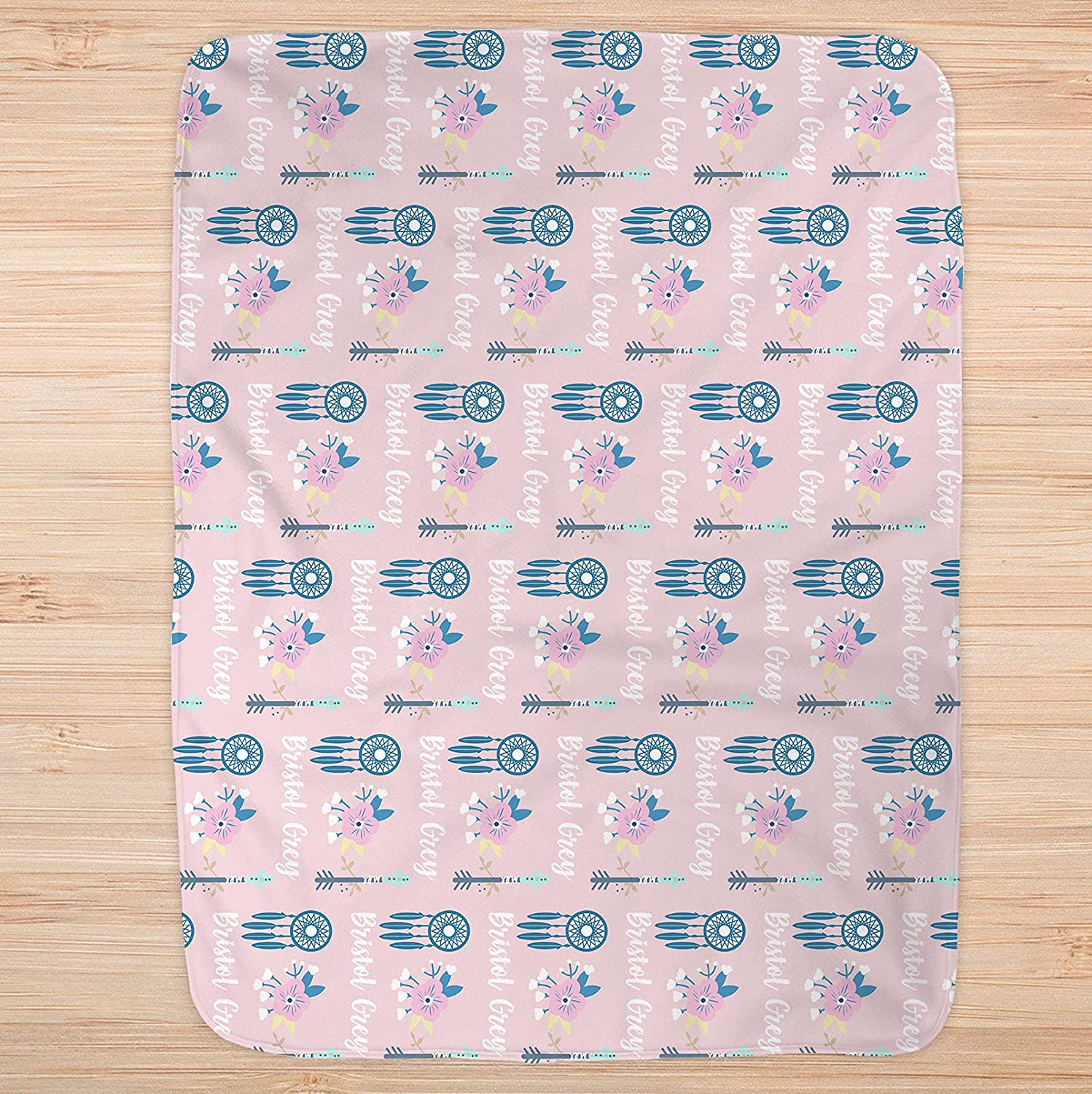 Personalized Blanket- Personalize Baby Name Blanket Special price for a limited time Blank Overseas parallel import regular item