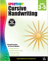 Spectrum | Cursive Handwriting Workbook | Grades 3-5, Printable