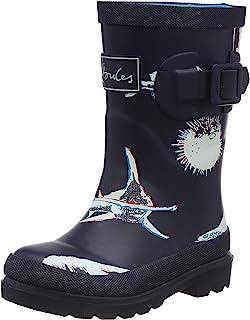 حذاء المطر للأولاد مطبوع عليه Welly Welly من Joules Jnr