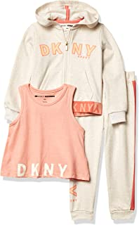 DKNY baby-girls Jacket, Knit Top and Pant Set Baby and Toddler Layette Set
