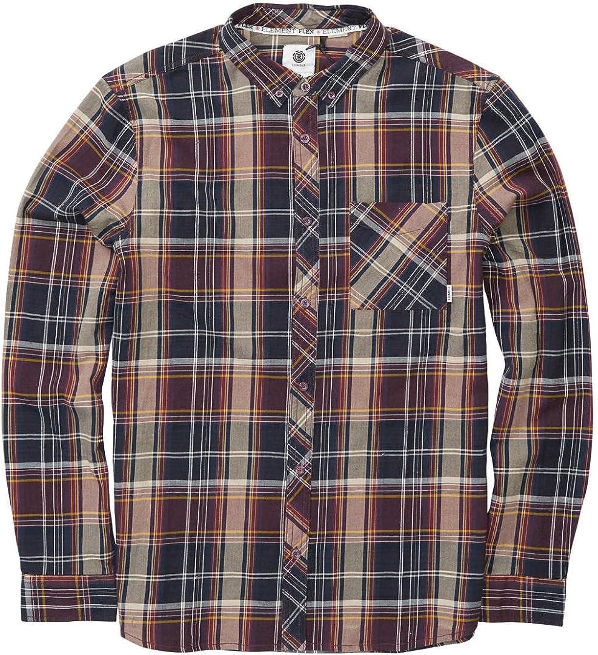 Element Buffalo - Camisa larga para hombre: Amazon.es: Ropa