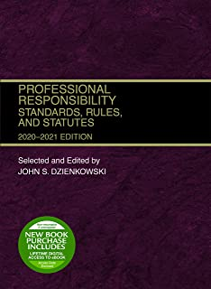 Professional Responsibility: Standards, Rules, and Statutes, 2020-2021