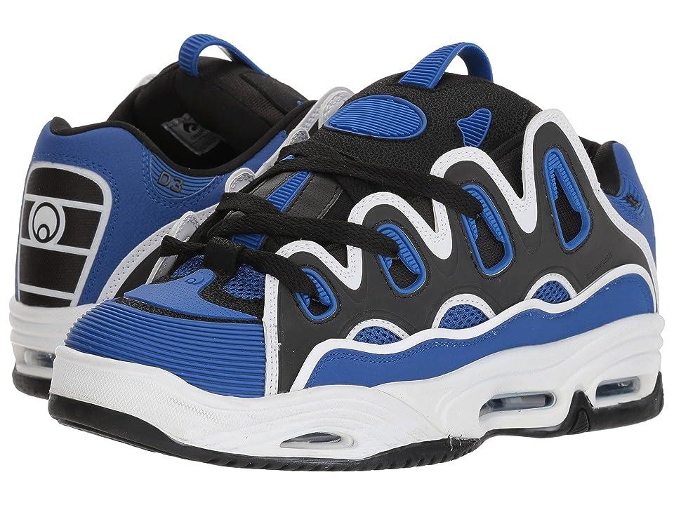3f12970e6f7 Osiris D3 2001 (Blue/Black/White) Men's Skate Shoes