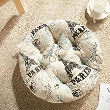 Almofada de assento em forma de almofada redonda, engrossar almofadas de cadeira de conforto, almofadas de cadeira para sa...