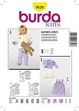 Burda 9829 Sewing Pattern Infants Toddlers Girls Jacket Blouse Pants Skirt Size 9M - 3