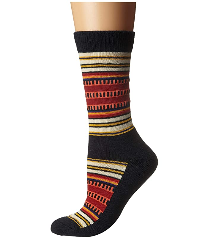 Acadia Stripe  Shoes (Black) Crew Cut Socks Shoes
