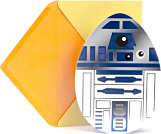 Hallmark Funny Easter Card for Kids (Star Wars R2-D2 Egghead)