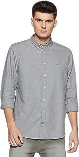Tommy Hilfiger Men's Printed Regular Fit Casual Shirt