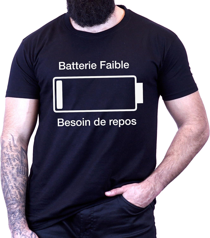 Batterie Faible Besoin De Repos Id/ée Cadeau T-Shirt