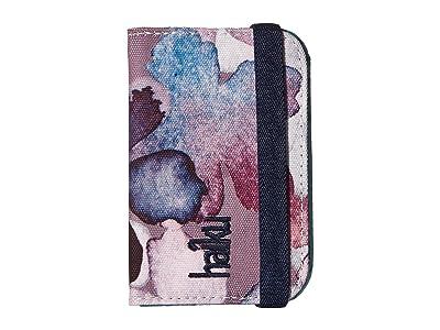 Haiku RFID Mini Wallet (Wildflower Print) Wallet Handbags