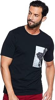 Calvin Klein Men's J30J310429-Black T-Shirts