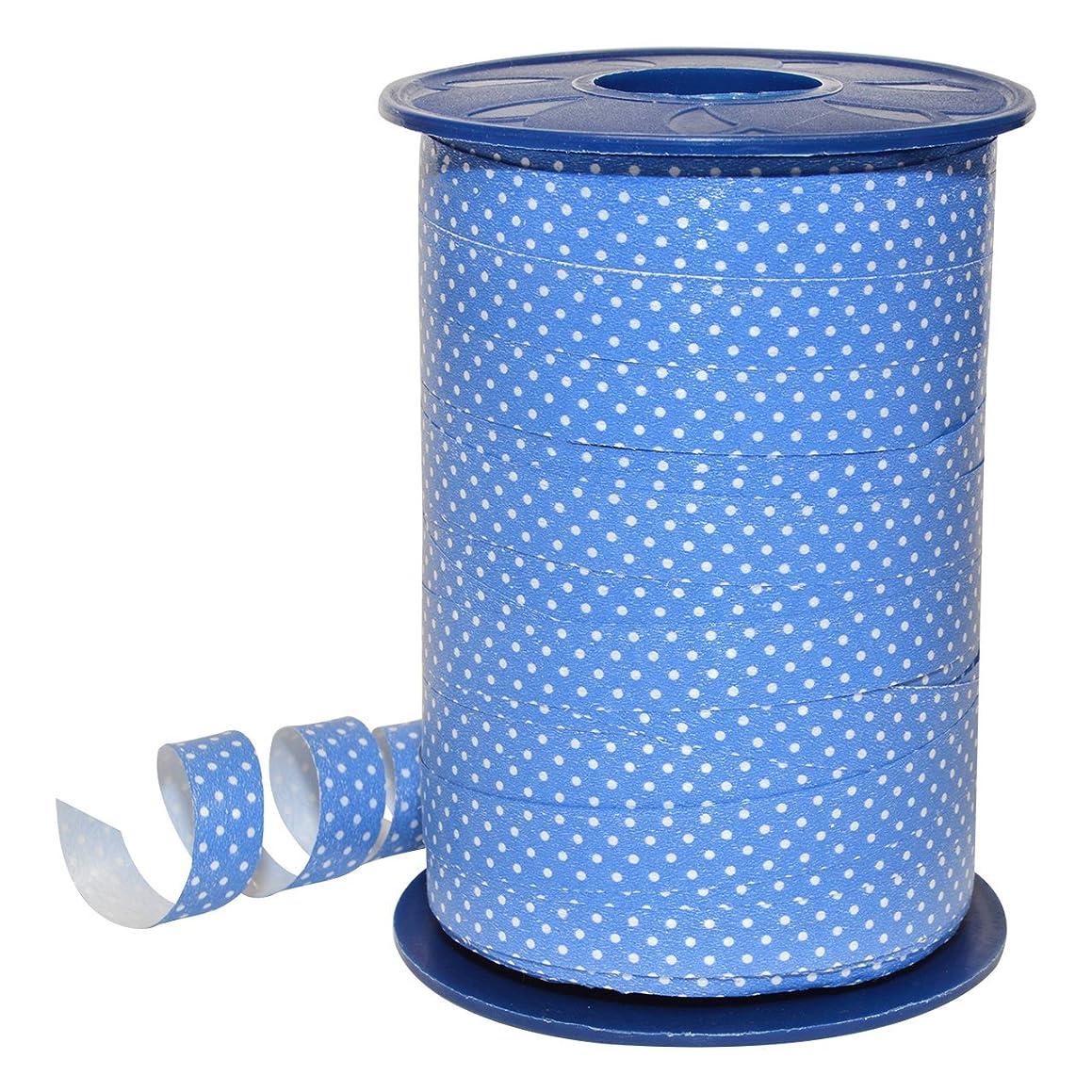 Morex Ribbon 378/9-612 Polypropylene Dots Curling Ribbon, 3/8