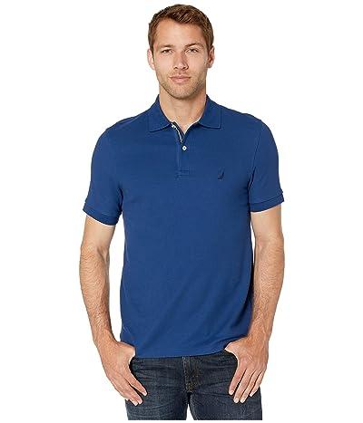 Nautica Solid FCA Deck Shirt (Blue) Men