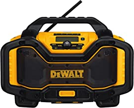 DEWALT 20V MAX Bluetooth Jobsite Radio and Battery Charger (DCR025)