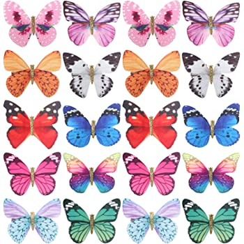 Mini Butterfly Hair Clips Hair Decorations 1 Pack 20 Pieces