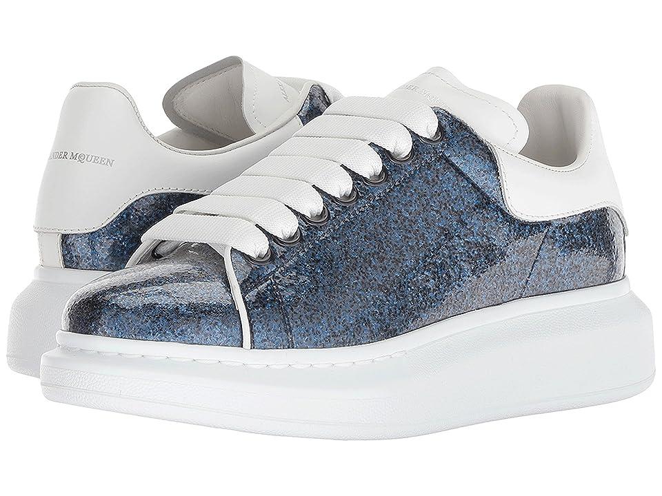 Alexander McQueen Oversized Sneaker (Navy/White/White) Women