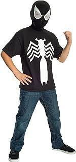 Rubie's Ultimate Black Spider-man / Venom T-shirt and Mask, Child Large - Child Large One Color