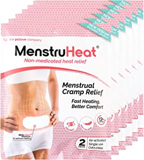 Pslove MenstruHeat Non-Medicated Heat Relief, 2ct (Pack of 6)