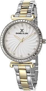 Daniel Klein Premium Alloy Case Stainless Steel Band Ladies Wrist Watch - Dk.1.12467-5, multicolor