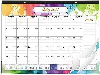 """2021-2022 Desk Calendar - Large Desk Calendar, 22"""" x 17"""", July 2021 - Dec 2022, 18 Months Planning, Large Ruled Blocks, De..."""