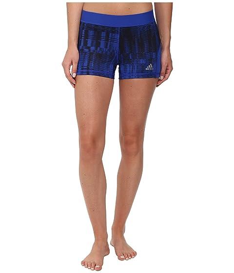 Color. Bold Blue/Black Print/Matte Silver. Women's size