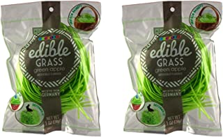 Edible Easter Grass - Grass Candy - Delicious Assortment of Flavors - Green Apple, Strawberry or Blueberry (Green Sour Apple - 2 Bags)