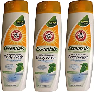 3-Pack Simply Fresh Essentials Ultra Moisturizing Vegan Body Wash