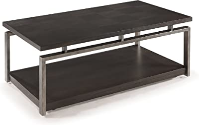 Magnussen T2535 Alton Rectangular Cocktail Table with Casters