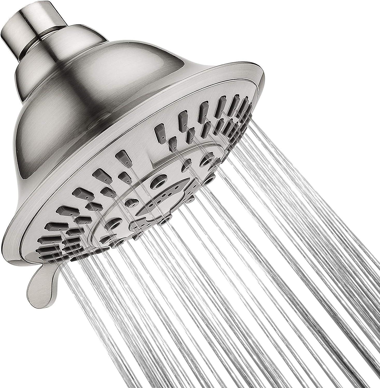 Shower Head New product!! High Pressure Rain Fixed Setting Showerhead 5 Now on sale Spray
