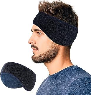 Arcweg Winter Ear Warmers Fleece Sports Headbands Thermal Stretchy Ear Muffs Moisture Wicking Running Head Bands for Women...