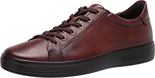 ECCO Men's Soft Classic Sneaker, COGNAC, 13 M US