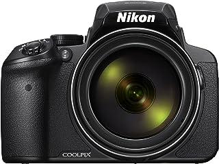 كاميرا كولبيكس 16 ميجابيكسل P900 من نيكون، كاميرا بوينت اند شوت، اسود