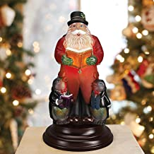 Old World Christmas Caroling Santa Glass Night Light Figurine 529773 New