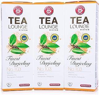 Teekanne Tealounge Kapseln- Finest Darjeeling No. 103 Schwarzer Tee 3x8 Kapseln