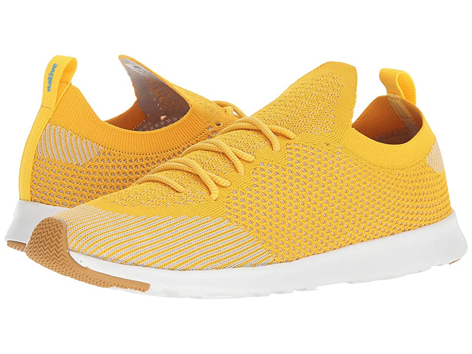 Native Shoes AP Mercury Liteknit (Groovy Yellow/Shell White/Natural Rubber) Athletic Shoes