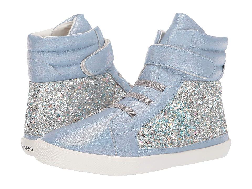 Amiana 15-A5537 (Toddler/Little Kid/Big Kid/Adult) (Blue Glitter) Girl