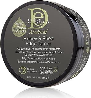 Design Essentials Natural Honey & Shea Edge Tamer Hair Gel, 2.3 Oz