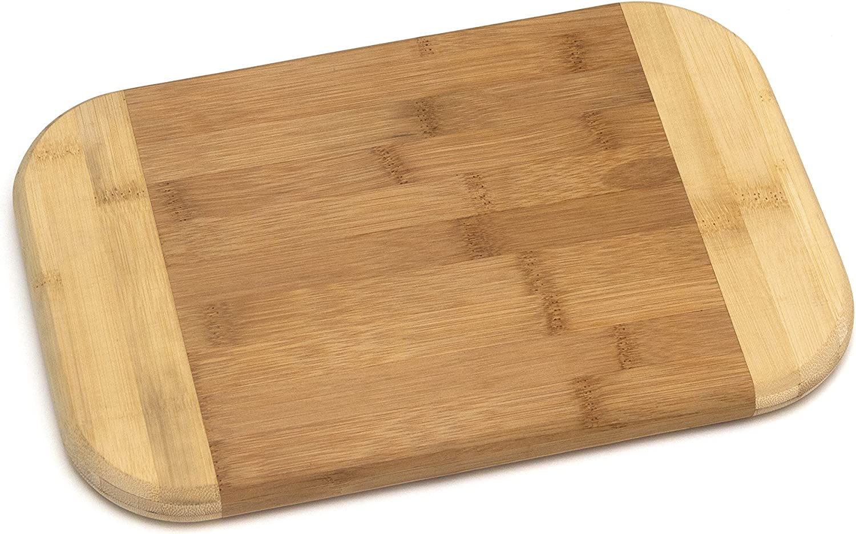 Lipper International Bamboo Wood Spasm price Two-Tone and Kitchen Tulsa Mall Cutting Se
